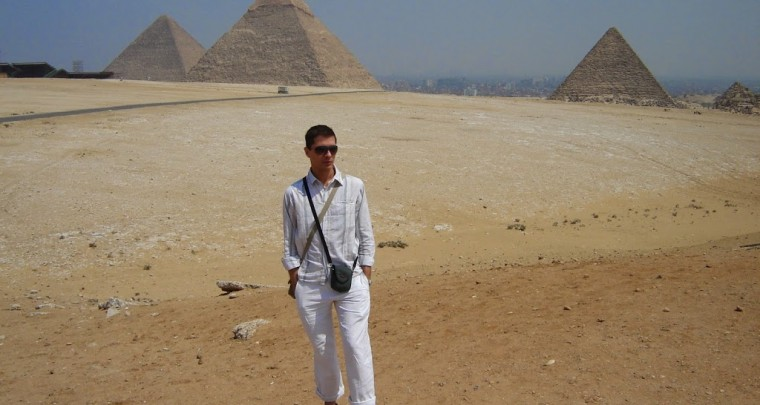 Egypt - The Pyramids Of The Sun