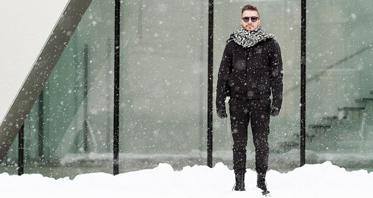 A Workaholic In The Snow