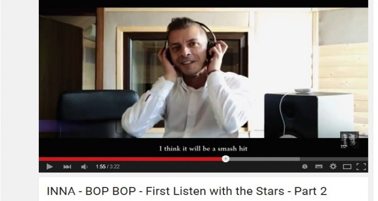 INNA - BOP BOP - First Listen with the Stars!