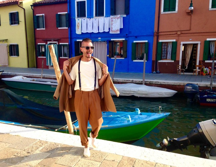 The  WOW effect of Burano