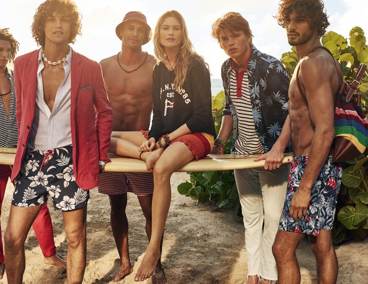 Tommy Hilfiger gives us a Tropical Spring Collection