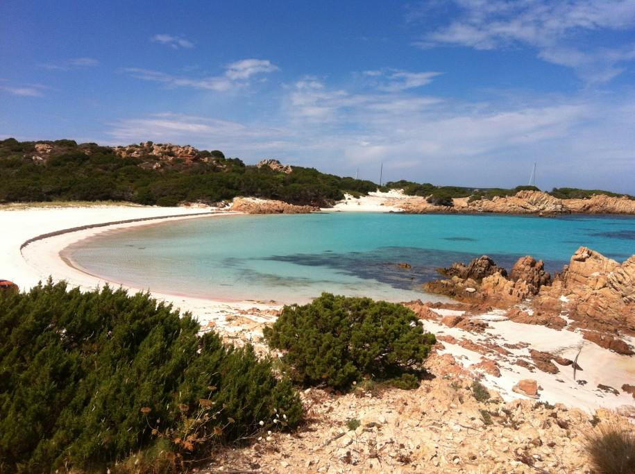 Spiaggia Rosa, Sardinia, Italy