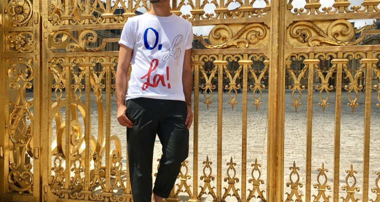 O. La La! It's a new Tshirt in town!