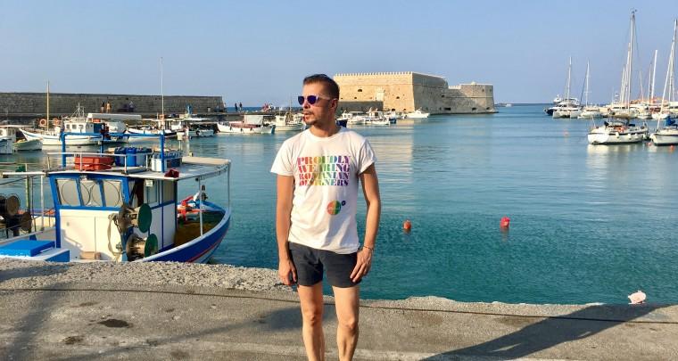 Molecule F Tee in Crete!