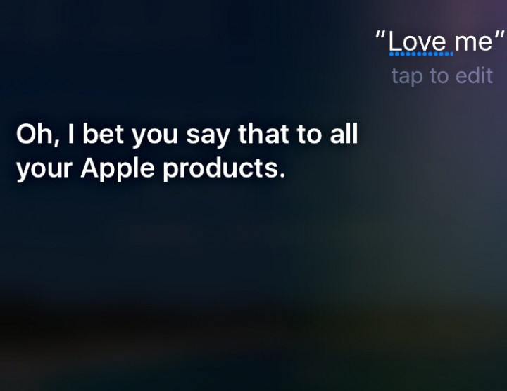 In Bed With Siri