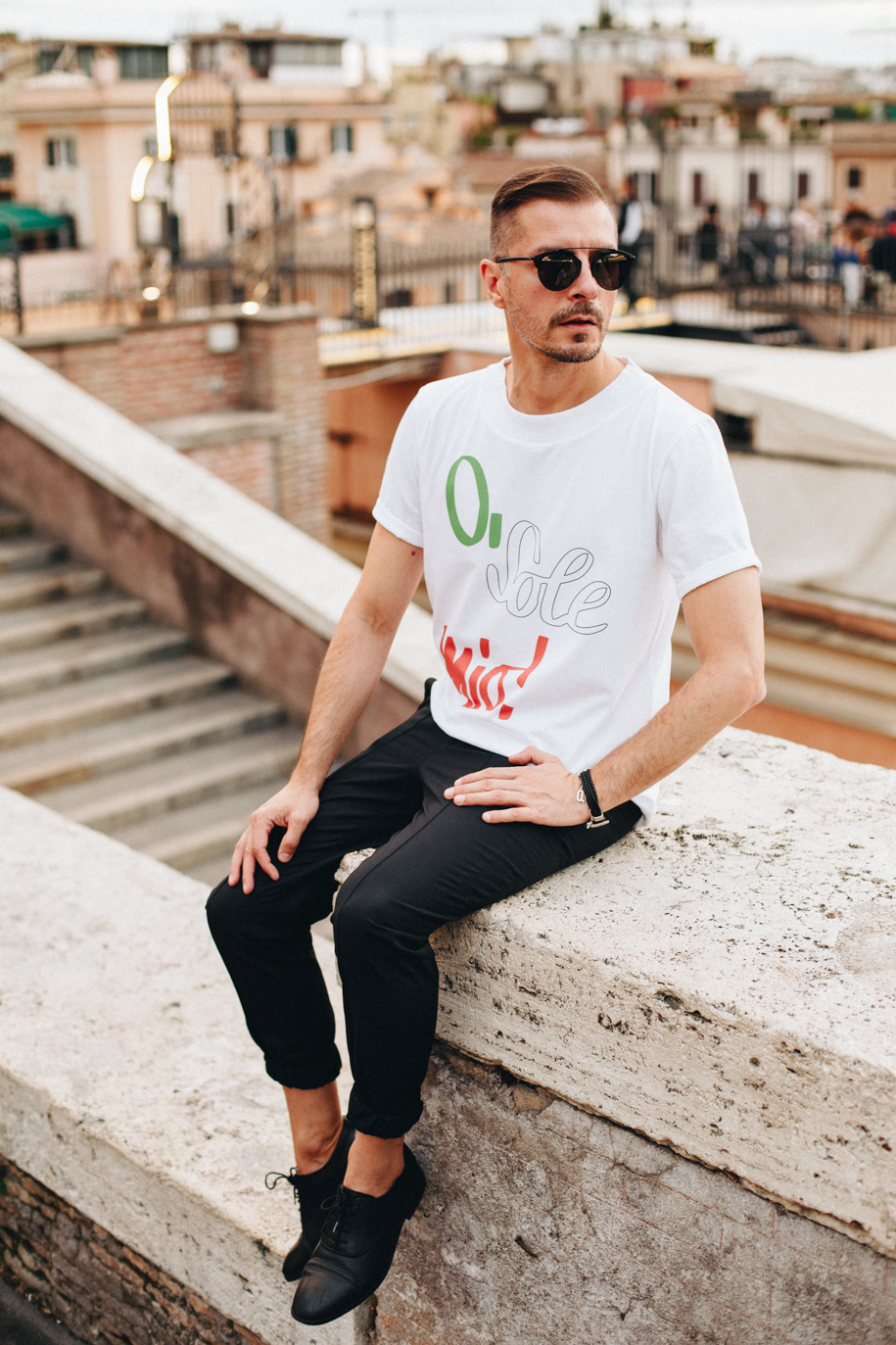 Tricou O sole mio! Ovidiu Muresanu The Stories of O 8