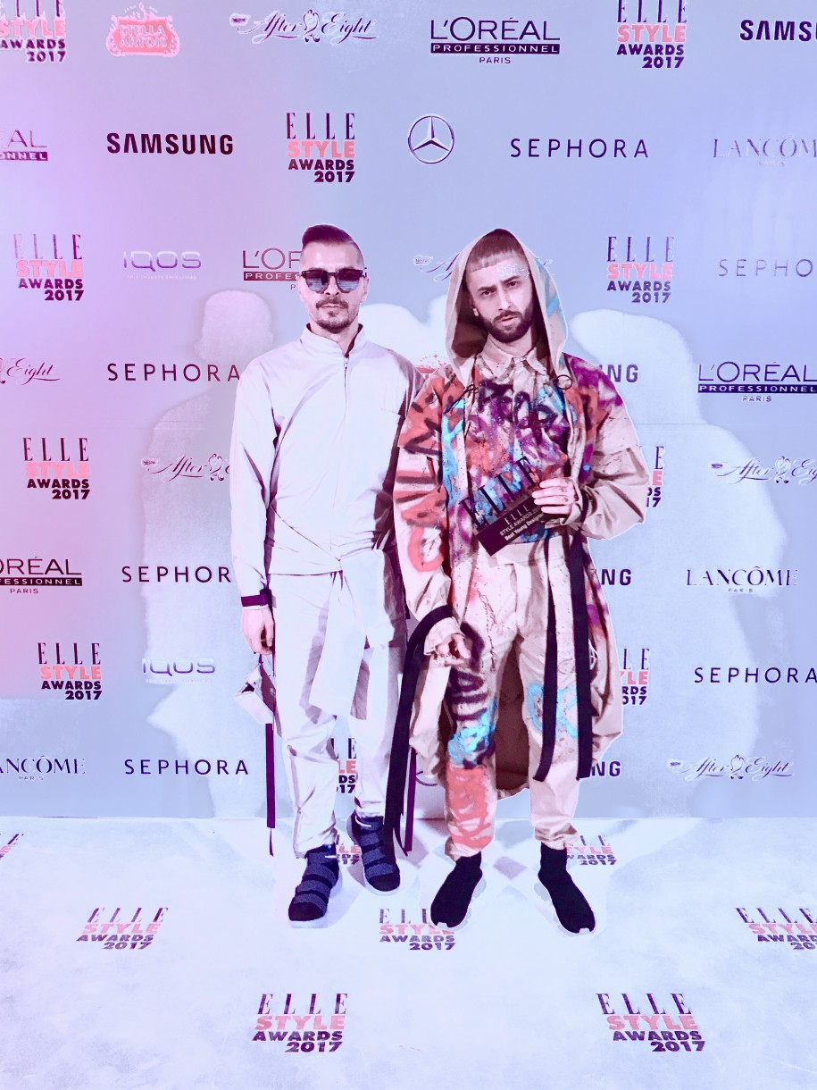 Ovidiu Muresanu ALexandru Simedru Elle Style Awards