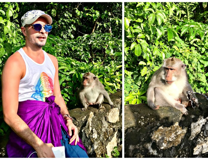 Bali - Uluwatu Temple and The Crazy Monkey