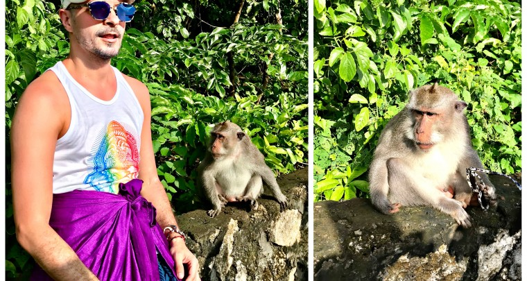 Bali - Uluwatu Temple and The Crazy Monkey