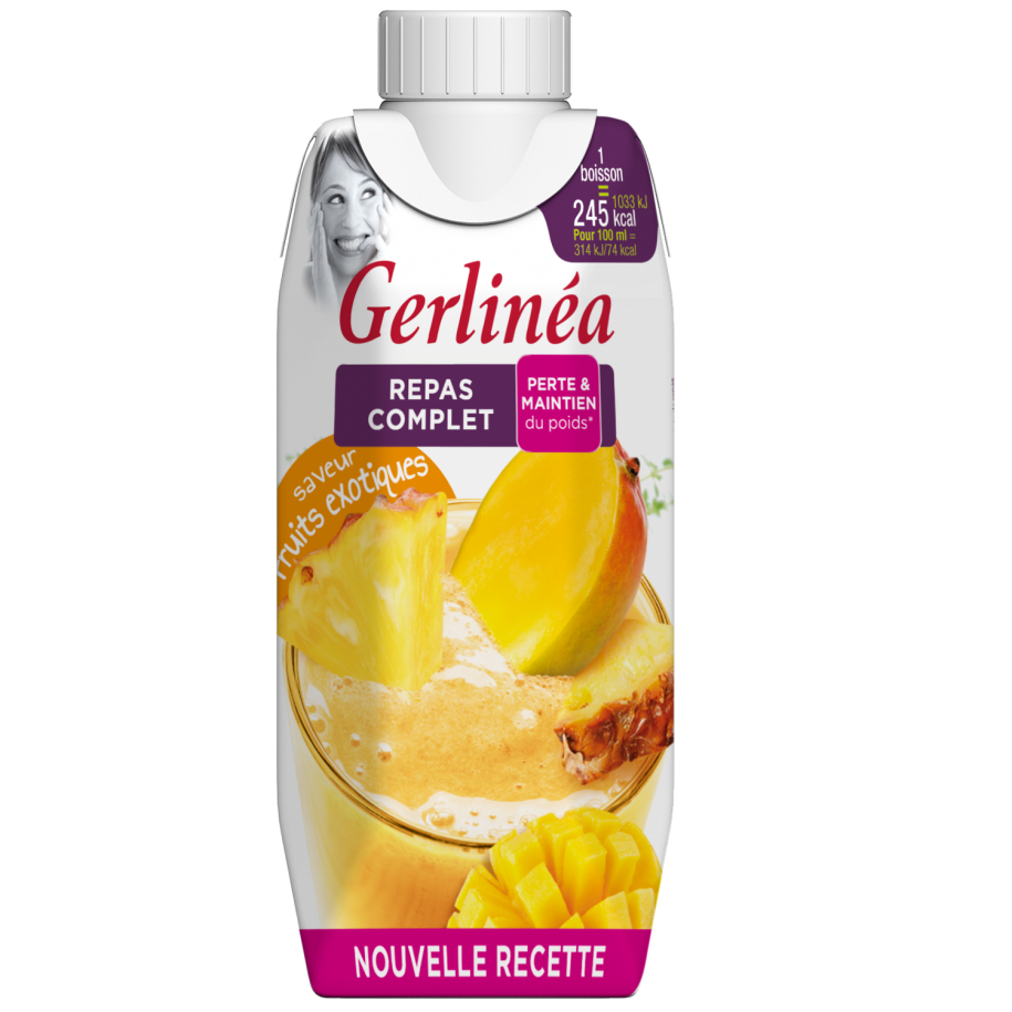 GERLINEA SHAKE FR. EXOTICE 330ml