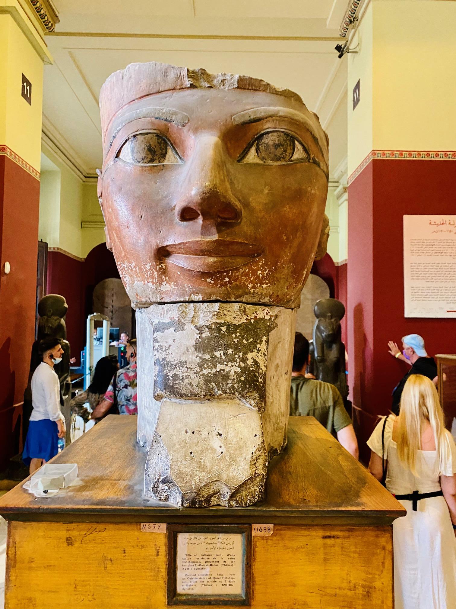 Muzeu Cairo Hatshepsut