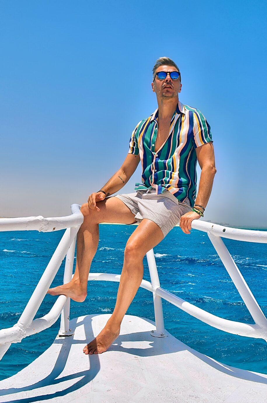 Ovidiu Muresanu Boat Red Sea