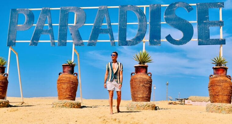 Welcome to Paradise! In Egypt!